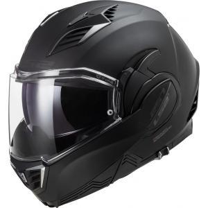 Překlápěcí přilba na motorku LS2 FF900 Valiant II Noir černá matná