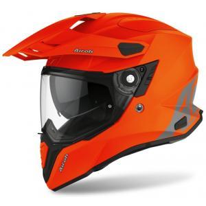 Přilba Airoh Commander Color oranžová výprodej