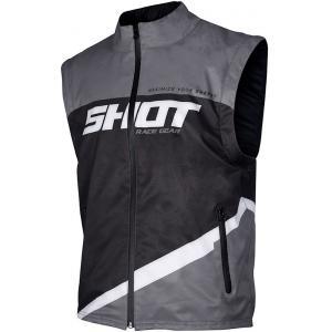 Softshellová vesta Shot Lite černo-šedo-bílá výprodej