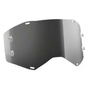 Stříbrné zrcadlové sklo Works do motokrosových brýlí SCOTT Prospect/Fury