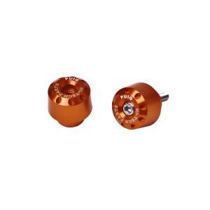 Univerzální závažíčka řidítek PUIG SHORT 6203T oranžová D 13-18mm