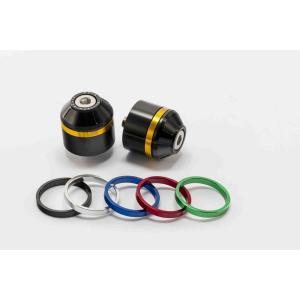 Závažíčka řidítek PUIG SHORT WITH RING 8074N včetně barevných kroužků
