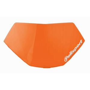 Headlight removable number plate POLISPORT HALO LED oranžová KTM