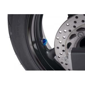 Ventily pro bezdušová kola PUIG 8100A modrá D 8,3mm