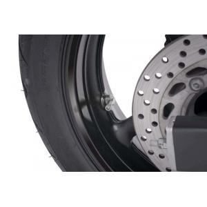 Ventily pro bezdušová kola PUIG 8100P stříbrná D 8,3mm