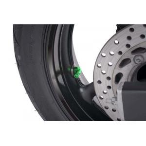 Ventily pro bezdušová kola PUIG 5591V zelená D 11mm