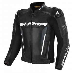 Bunda na motorku Shima Bandit černá výprodej
