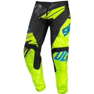 Dětské motokrosové kalhoty Shot Devo Ventury černo-modro-fluo žluté výprodej