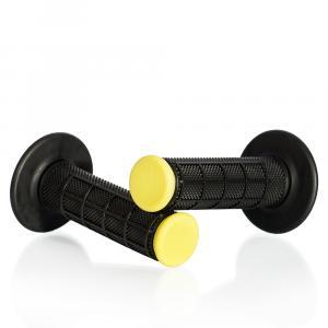 Motokrosové rukojeti MOTION STUFF černá/žlutá
