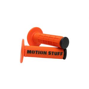 Motokrosové rukojeti MOTION STUFF Oranžovo/černé