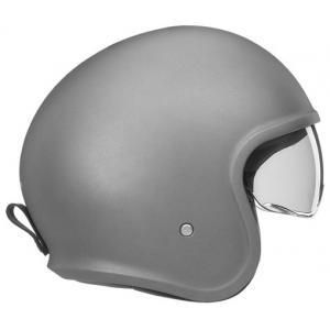 Otevřená přilba na motorku NOX PREMIUM Next stříbrná matná výprodej