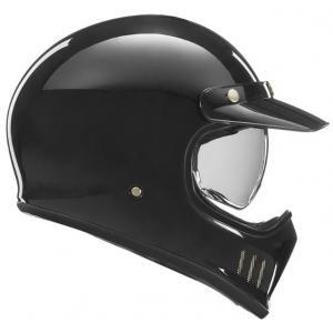 Přilba na motorku NOX PREMIUM Seventy černá lesklá
