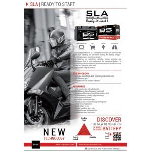 Továrně aktivovaná motocyklová baterie BS-BATTERY BTZ7S (YTZ7S) SLA