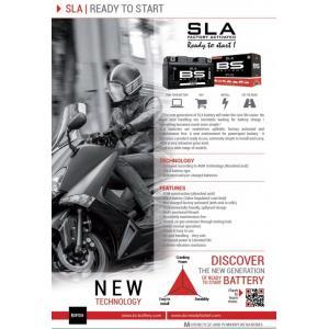 Továrně aktivovaná motocyklová baterie BS-BATTERY BB12AL-A2 (FA) (YB12AL-A2 (FA)) SLA
