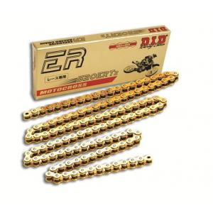 Motokrosový řetěz D.I.D Chain 520ERT2 112 L Zlatá/Zlatá