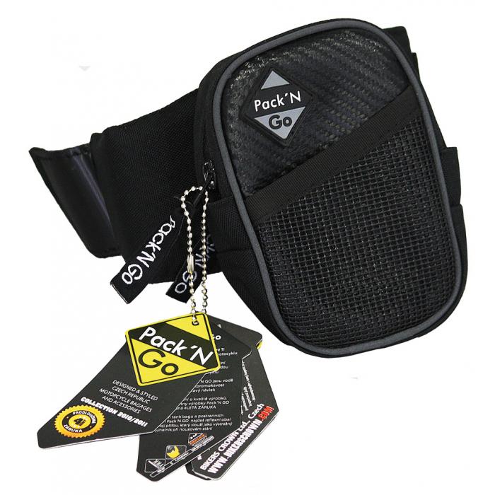 Kapsička na ruku Pack´N GO Carbon Leather