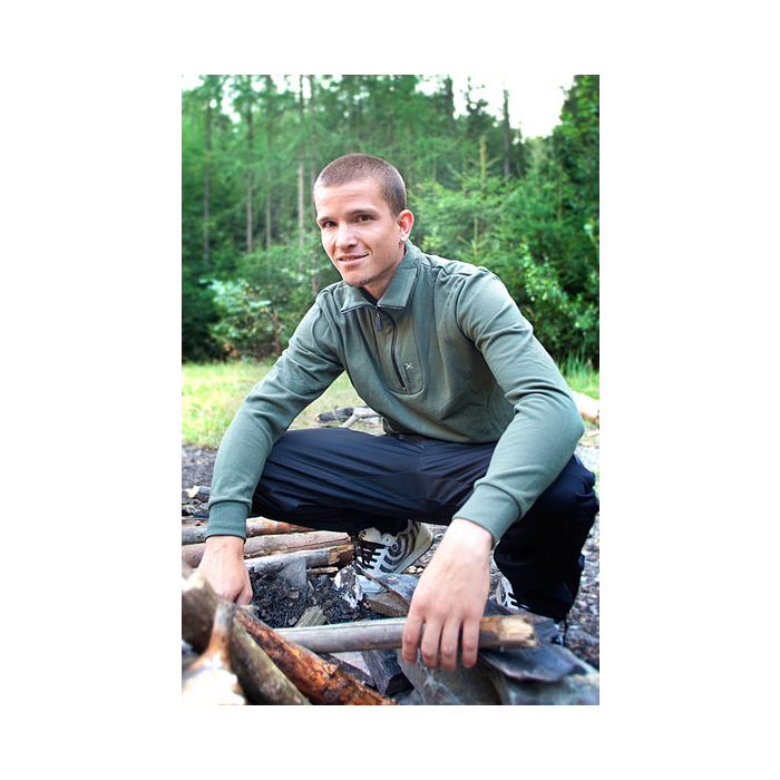 Pánský pulovr Klimatex-Alergo zelený výprodej