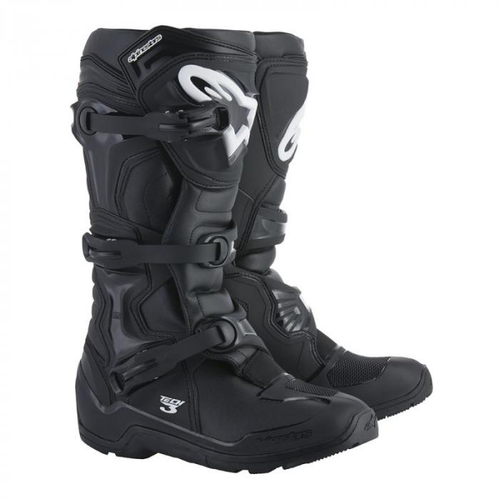 Boty na motorku Alpinestars Tech 3 černé