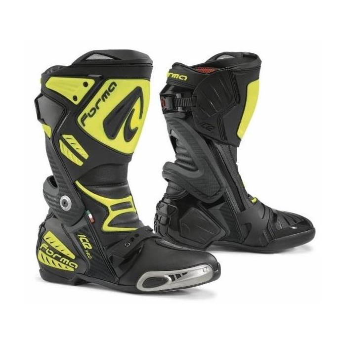 Boty na motorku Forma Ice Pro černo-fluo žluté - II. jakost