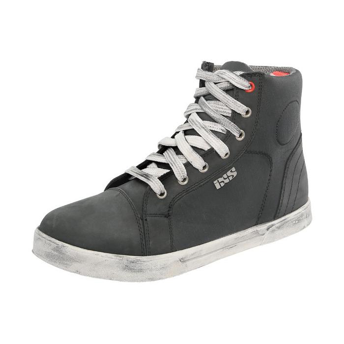 Boty na motorku iXS Sneaker černé