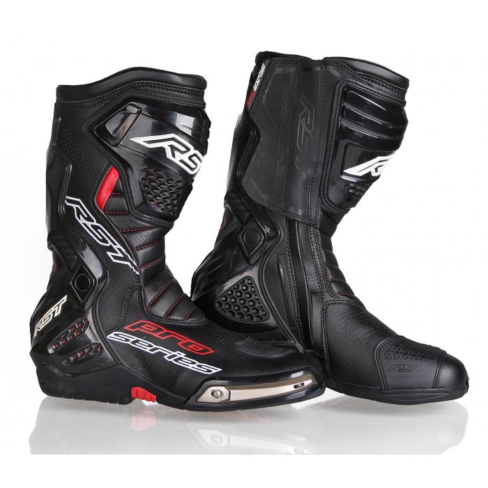 Boty na motorku RST Pro Series Race černé výprodej