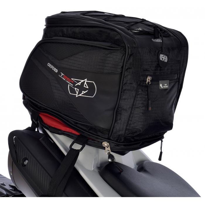 Brašna na sedlo spolujezdce Oxford T25R Tailpack černá výprodej