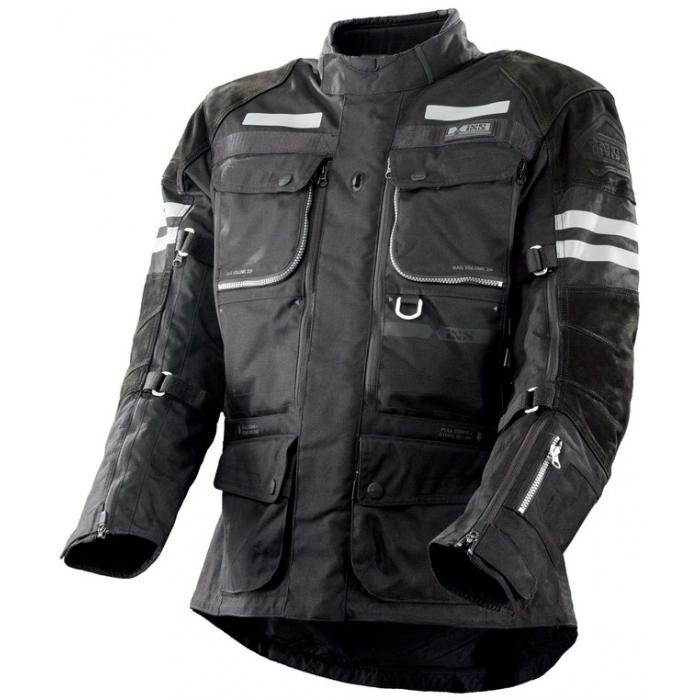 Bunda na motorku iXS Montevideo-ST-LT černá