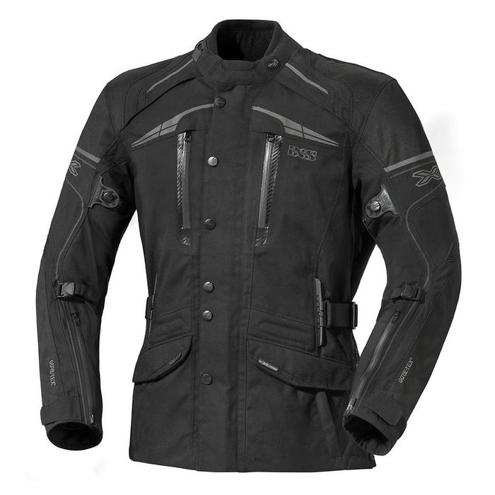 Bunda na motorku iXS Montgomery černá