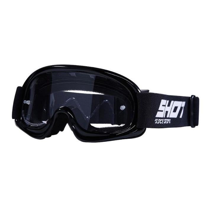 Dětské motokrosové brýle Shot Upper černé