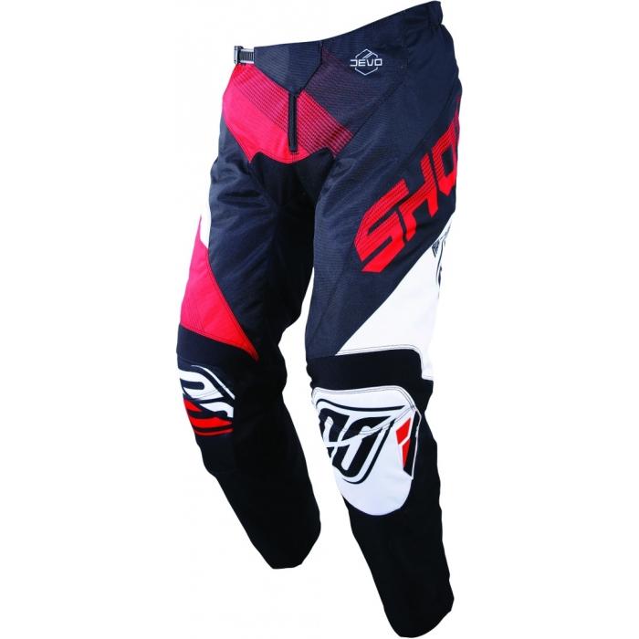 Dětské motokrosové kalhoty Shot DEVO Ultimate černo-červené