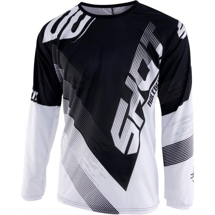 Dětský motokrosový dres Shot DEVO Ultimate černo-bílý výprodej