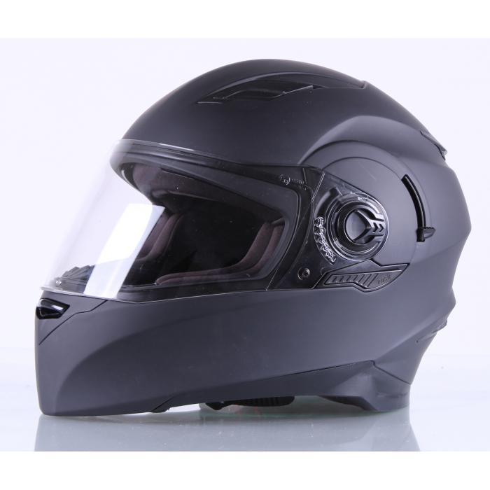 Integrální přilba na motorku RSA Clasico černá matná výprodej
