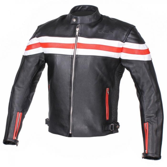 Kožená bunda na motorku RSA Lines - II. jakost