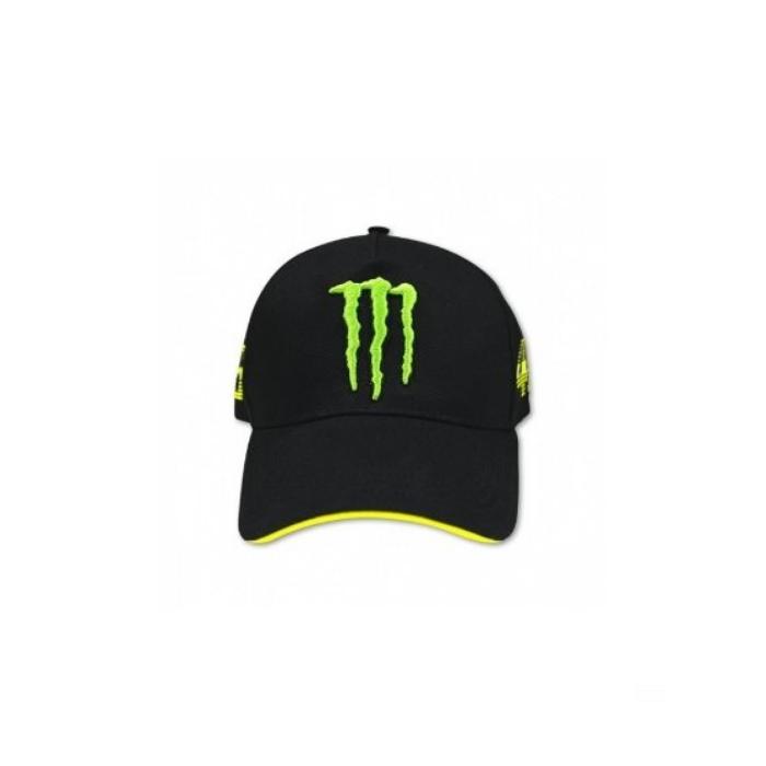 Kšiltovka VR46 Valentino Rossi MONSTER černá