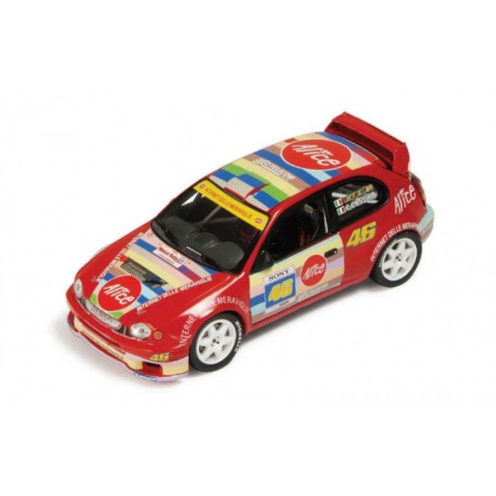 Model automobilu VR46 TOYOTA Corolla WRC Rally Monza 2004 DA26