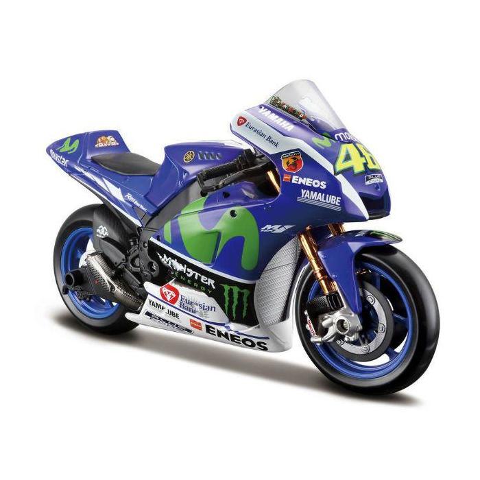 Model motocyklu Maisto VR46 Valentino Rossi YAMAHA MotoGP 2016