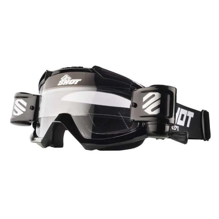 Motokrosové brýle Shot Assault Roll-Off černé