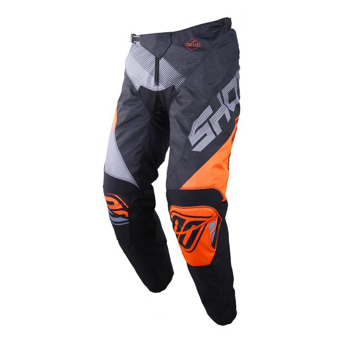 Motokrosové kalhoty Shot DEVO Ultimate černo-fluo oranžové výprodej