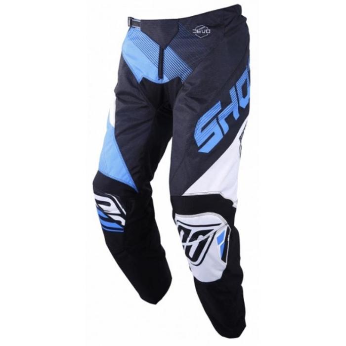 Motokrosové kalhoty Shot DEVO Ultimate černo-modré