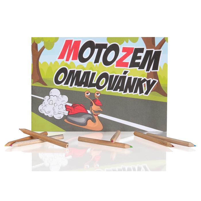 Omalovánky MotoZem