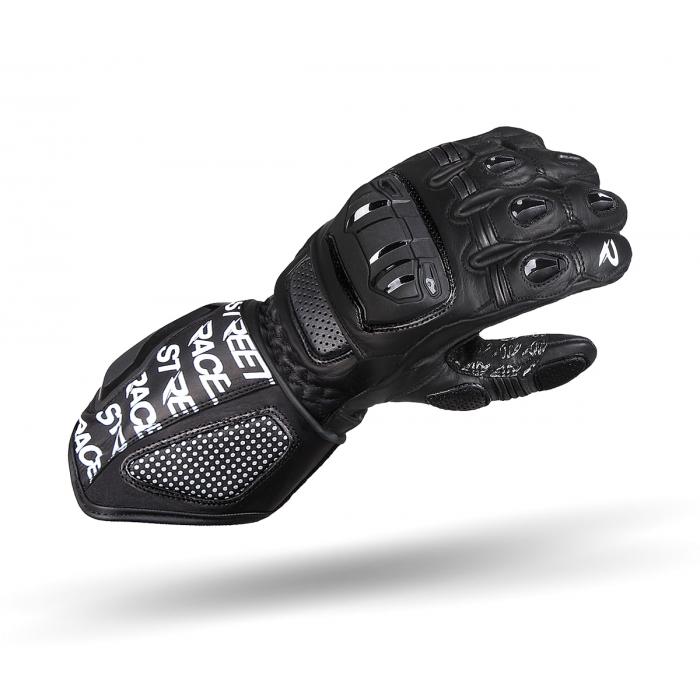 Rukavice na motorku Street Racer WRS černé