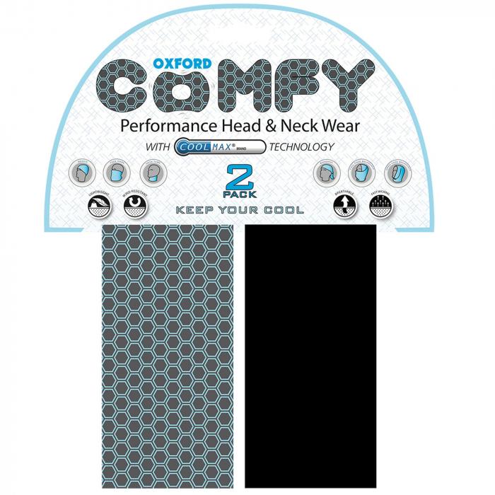 Šátky Oxford Comfy Honeycomb Coolmax®