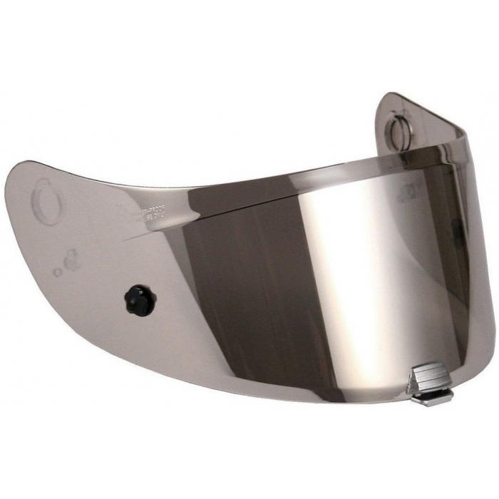 Stříbrně iridiové plexi HJC HJ-29