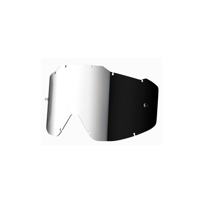 Stříbrně iridiové sklo do brýlí Shot Assault/ Iris ANTIFOG