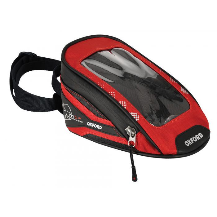 Tankbag na motocykl Oxford M1R Micro černo-červený