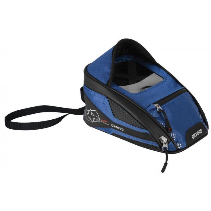 Tankbag na motocykl Oxford M2R černo-modrý
