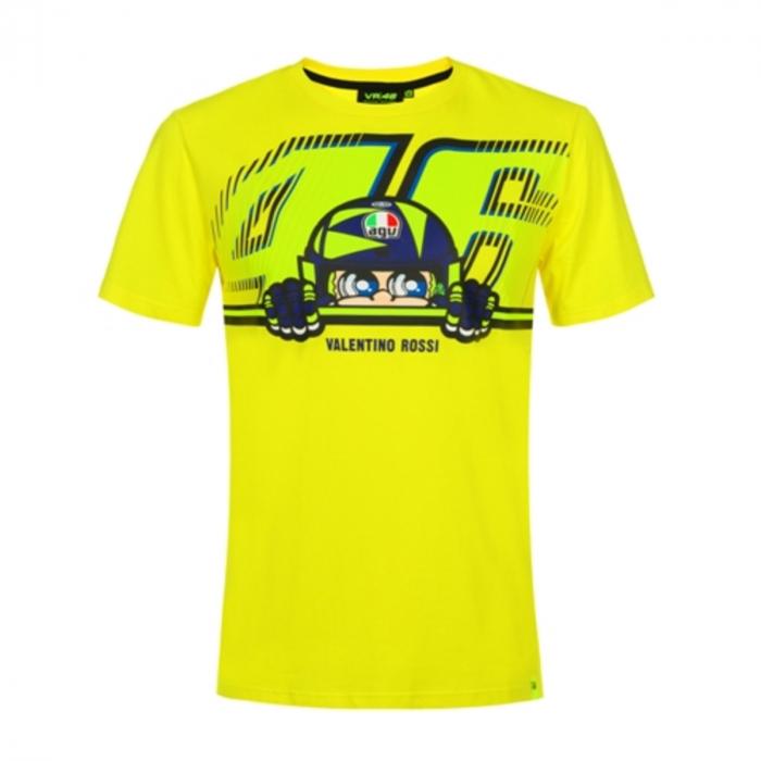 Triko VR46 Valentino Rossi CUPOLINO žluté