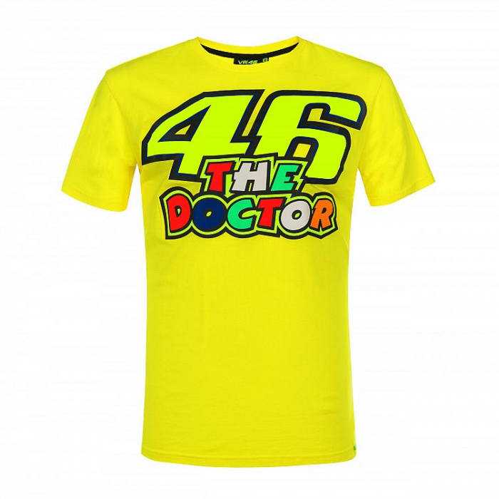 Triko VR46 Valentino Rossi THE DOCTOR 46 žluté