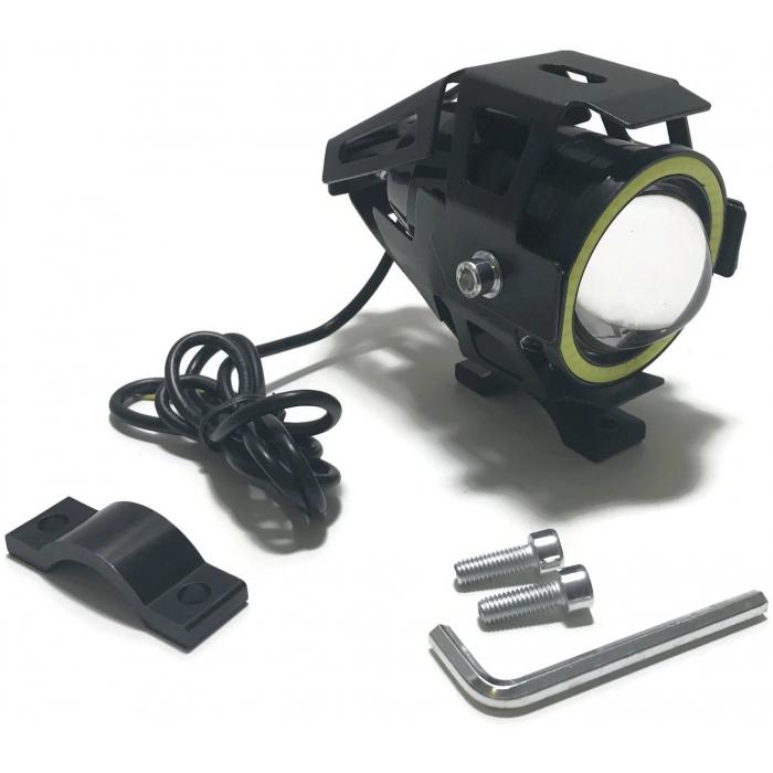 Universální přídavné LED světlo s LED kroužkem