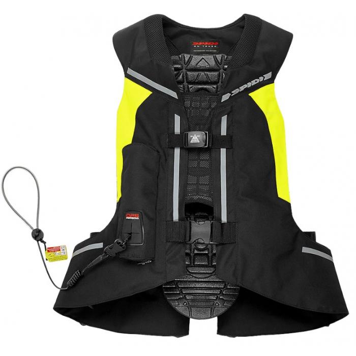 Vesta s airbagem SPIDI Air DPS CE černo-fluo žlutá